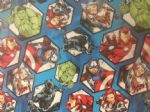 AVENGERS HULK IRON MAN CAPTAIN AMERICA THOR BLACK PANTHER MARVEL- Fabric - Price Per Metre